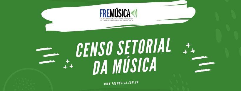 Censo setorial da música